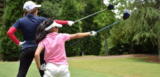 新富ゴルフプラザの娘さん坂東枝美子さんが考えるファミリーゴルフ